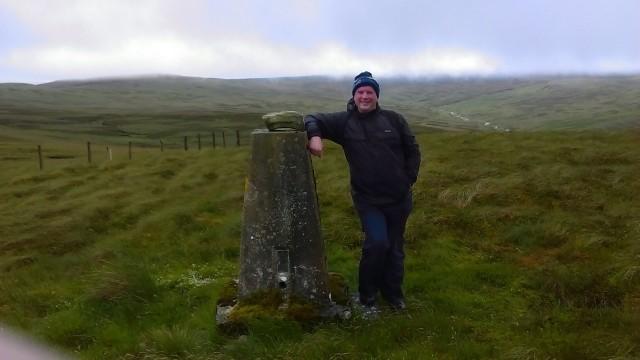 Rotherhope Fell trig point