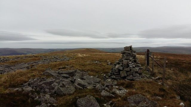 Benty Hill cairn - Hartside Walk 3