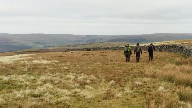 Hartside to Alston walk